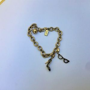 NWOT KATE SPADE CHARM BRACELET WITH 2 CHARMS